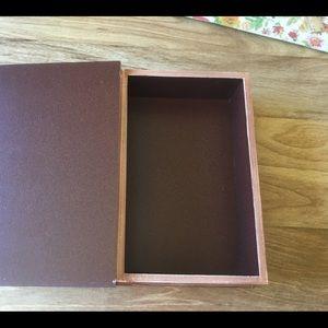 Holiday - Old World Plaid Christmas Book Shape Box